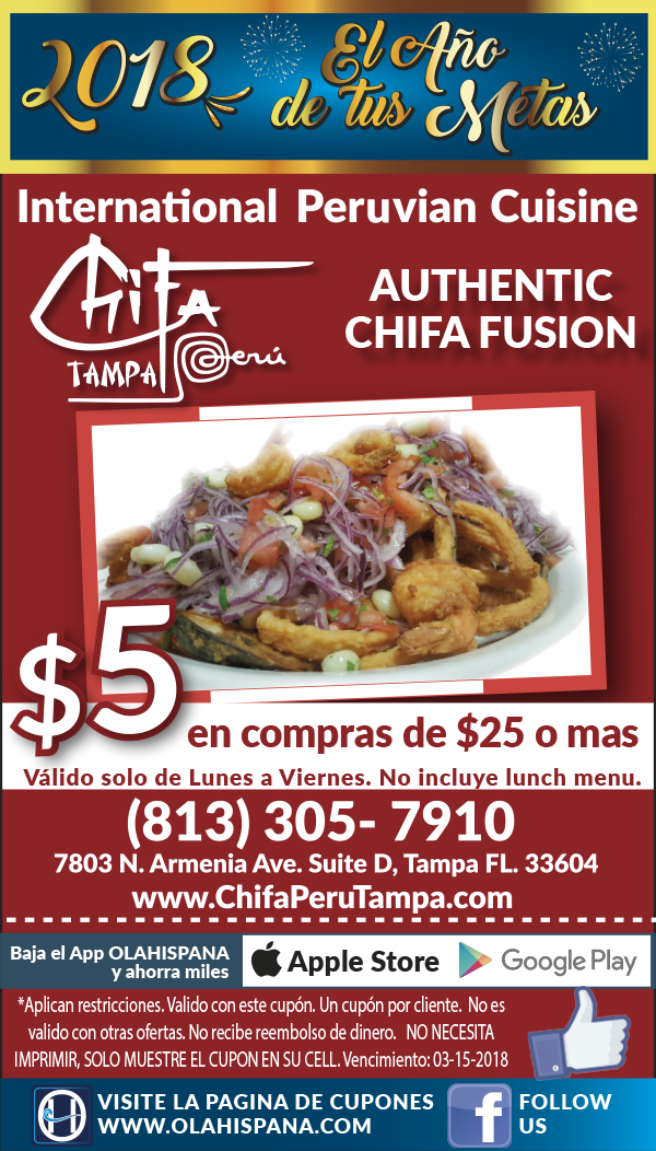 Chifa Peru Tampa