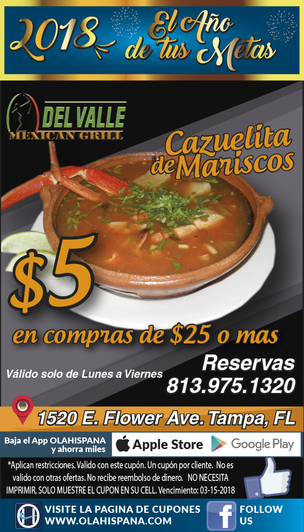 Del Valle Mexican Grill & Restaurant