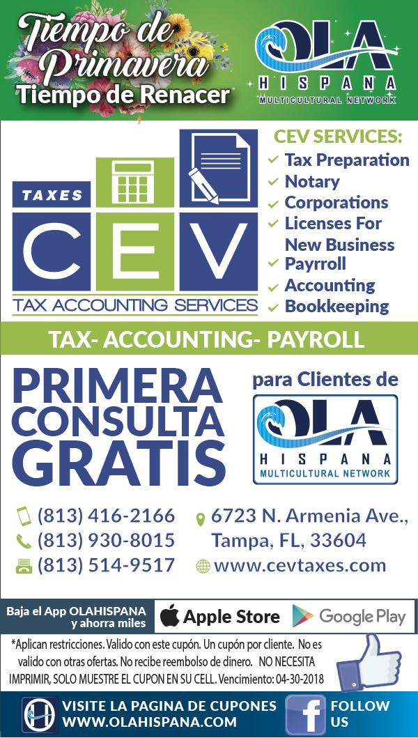 CEV – Taxes
