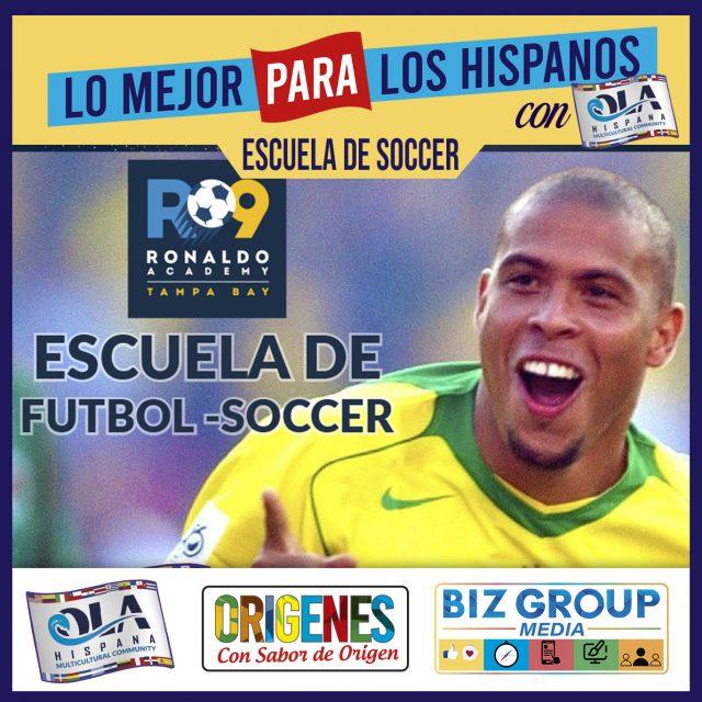 R 9 Ronaldo Academy – Escuela de Soccer Futbol