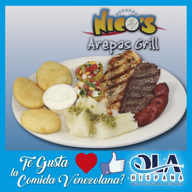 Nicos Arepas Grill